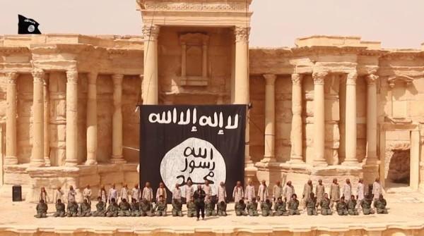 ISLAMIC STATE EXECUTION PALMYRA