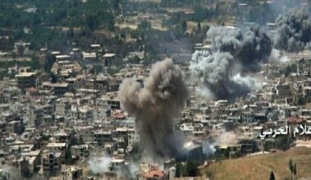 Syria Daily: Trading Offensives — Hezbollah-Regime in South v. Rebels in North