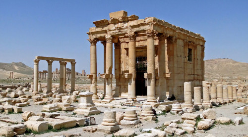Syria Feature: Islamic State Blows Up Roman Shrine in Palmyra