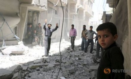 """Syria Report: Regime """"War Crimes"""" on People of East Ghouta Near Damascus"""