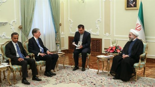 Iran Daily, August 24: British Foreign Secretary Meets President Rouhani