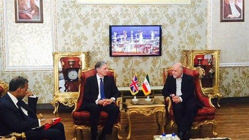 Iran Daily, August 23: British Foreign Secretary Reopens Embassy in Tehran
