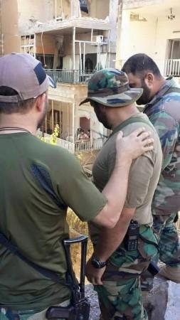 SYRIAN TROOPS ZABADANI