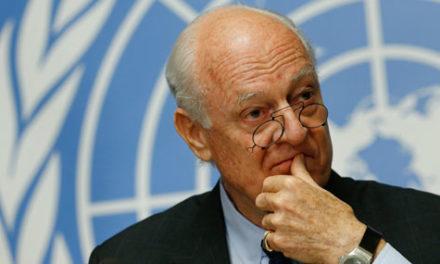 Syria Analysis: Everyone to UN Envoy De Mistura — Your Latest Plan is Useless