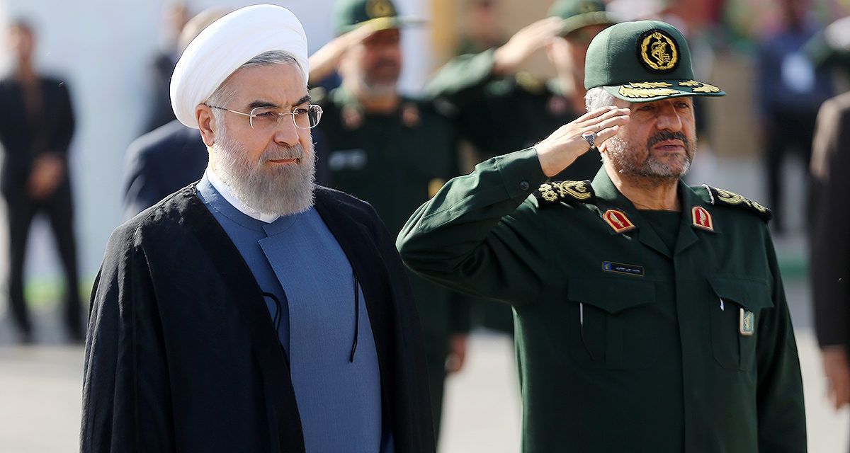 Iran Daily: Rouhani and Revolutionary Guards Meet to Make Up
