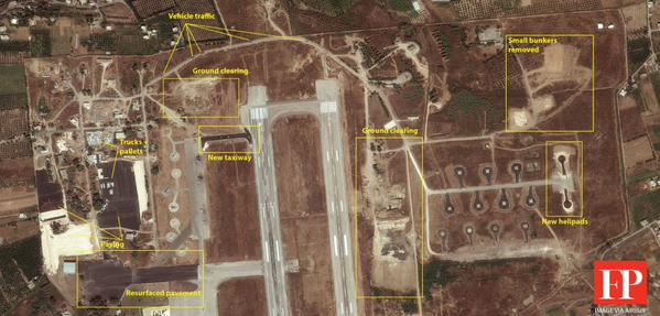 RUSSIAN AIRBASE SYRIA