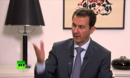 "Syria Daily, Sept 16: Assad Joins Russia's Campaign for ""Political Solution"""