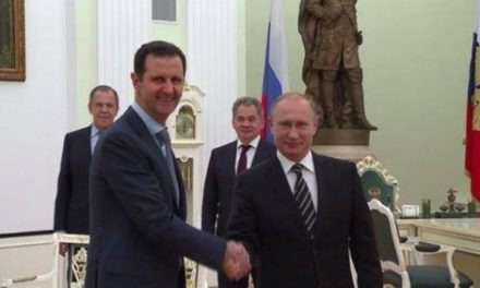 Syria Developing: Assad Meets Putin in Moscow