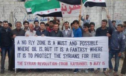 """Syria Letter: """"We Must Have a No-Fly Zone"""" — 25 Civil Society Activists inside the Country"""
