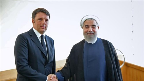 Iran Analysis: Italy Woos Rouhani To Win Iranian Business