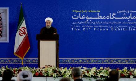 "Iran Daily, Nov 9: Rouhani Renews Attack on Hardliners ""Acting Like Secret Police"""
