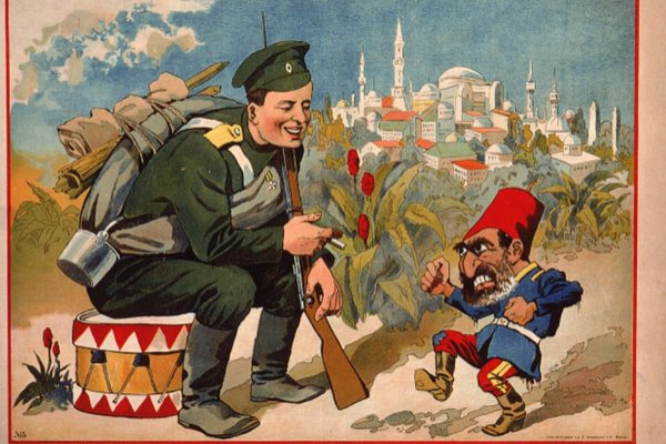 Syria Propaganda Feature: Russia's Embassy & the Anti-Turkish Poster from 1915