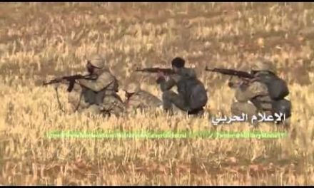 Syria Daily, Nov 9: Back-and-Forth Battles South of Aleppo
