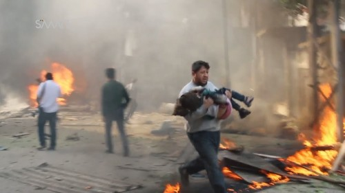 "Syria Daily, Nov 8: ""Russian"" Airstrikes Kill Dozens of Civilians Near Damascus"