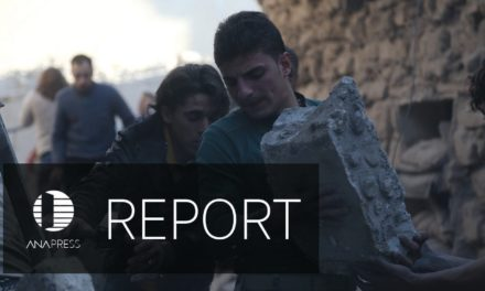 Syria Video Feature: A Russian Airstrike on Aleppo — A Desperate Father Searches for His Children