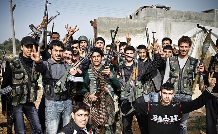 FREE SYRIAN ARMY ALEPPO APRIL 2012
