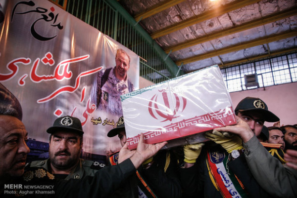 IRAN FIGHTER SYRIA FUNERAL 12-15
