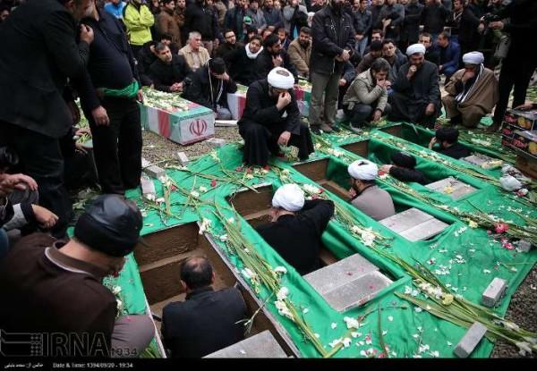 IRAN FUNERALS SYRIA SOLDIERS