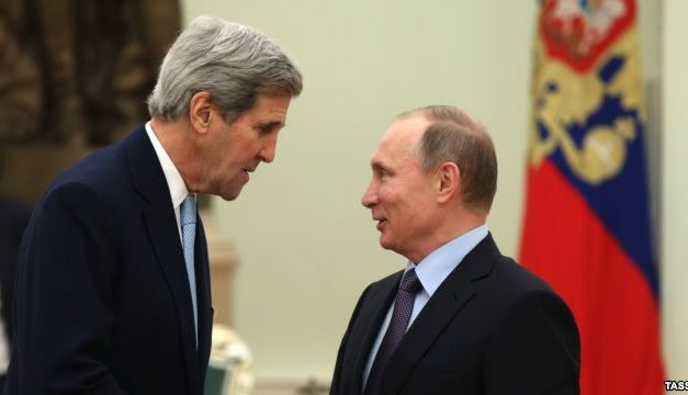 Syria Daily: Kerry Visits Russia With Obama's Plan for Cooperation