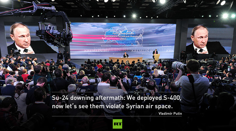Syria Daily, Dec 18: Putin Combines Bullying, Insults, and a Few Good Words for the US