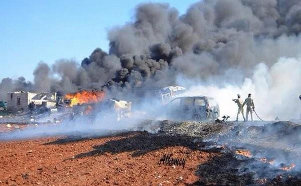 Syria Feature: Russia Kills Scores in Latest Attacks on Markets