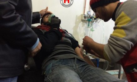 Syria Developing: Another Regime Chemical Attack Near Damascus?