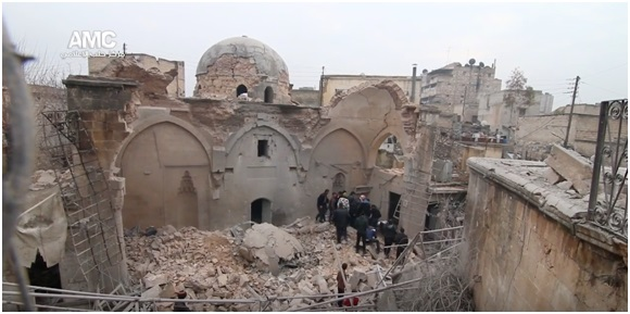 Syria Feature: Report – Russia Damages Mosque, Kills 10 Worshipers