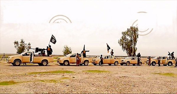 ISIS FIGHTERS LIBYA