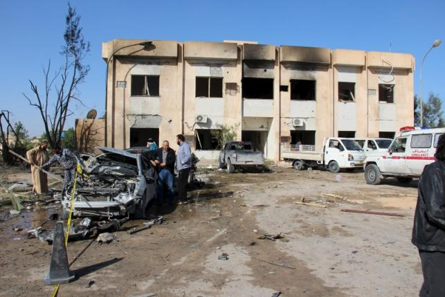 Libya Feature: Islamic State Claims Bombing That Killed At Least 60