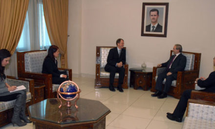 Syria Feature: Amid Regime's Sieges, Deputy Foreign Minister Receives Head of World Food Program