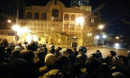 Iran Daily, Jan 3: Saudi Embassy Attacked After Cleric's Execution