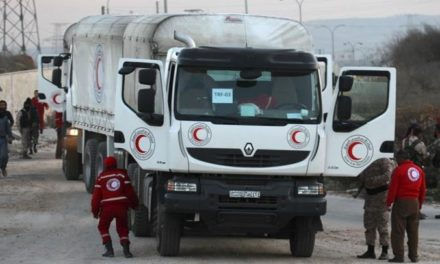 Syria Daily, Feb 18: Humanitarian Aid Sent to Some Besieged Areas