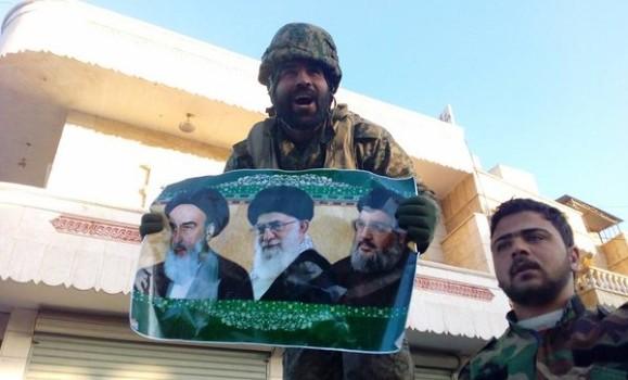 IRAN SOLDIER ALEPPO OFFENSIVE