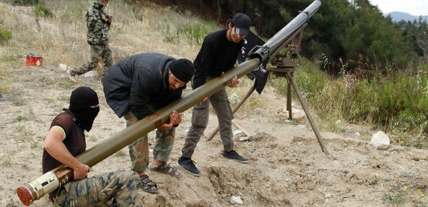 Syria Feature: Rebels Get Some Badly-Needed Rockets — But No Launchers