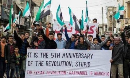 Syria Video Feature: The 5th-Anniversary Protests