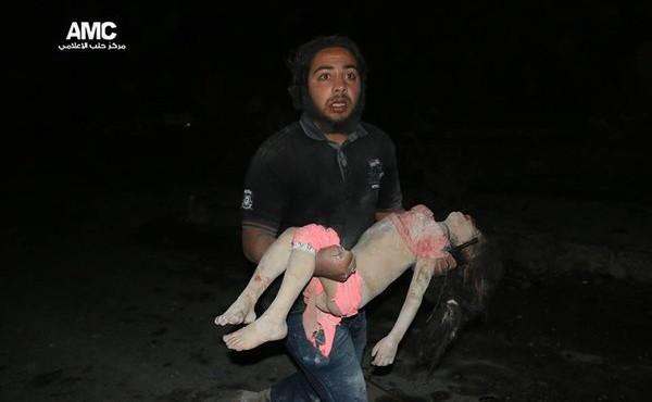 ALEPPO CHILD KILLED 27-04-16