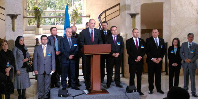 Syria Daily: Regime — We Don't Need the Opposition-Rebel Bloc in Geneva Talks