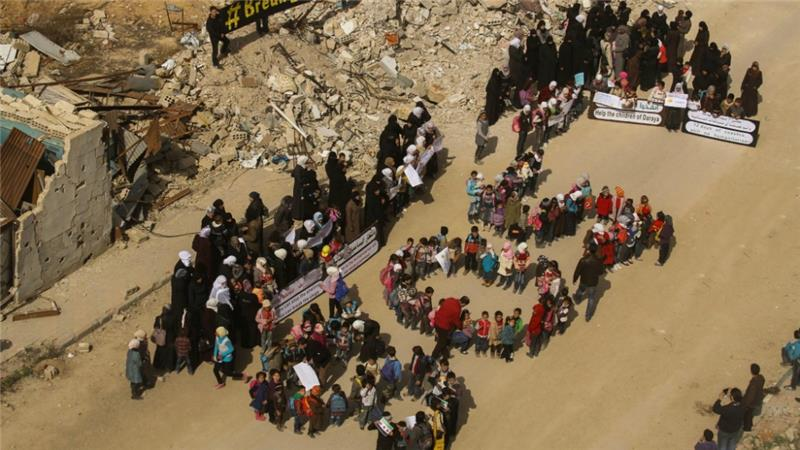 Syria Daily: 14 Countries and EU Urge UN to Ensure Aid Reaches Besieged Syrians