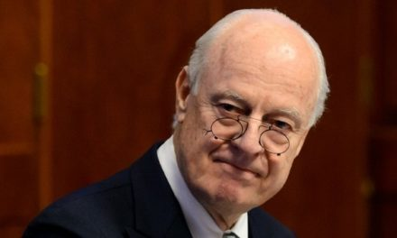 """Syria Daily: UN Envoy — Prospects of Political Talks """"Clearer"""" Next Week"""