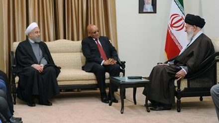 Iran Daily: Tehran Takes Advantage of a South African Visit