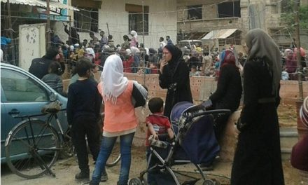 "Syria Feature: ""Slow Death"" as 100s Wait for No Medicine in Besieged Moadamiya"