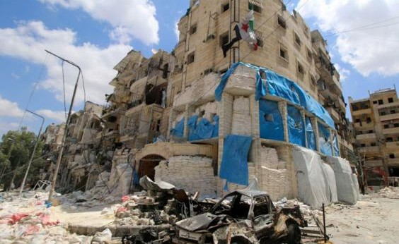 Syria Video: The Moment of the Russia-Regime Attack on Al-Quds Hospital