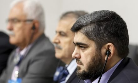 Syria Daily: Lead Opposition-Rebel Negotiator Alloush Quits
