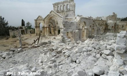 Syria Photo Feature: Pro-Assad Airstrikes Damage 5th-Century Church
