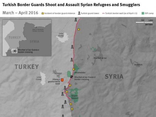 TURKEY SYRIA BORDER INCIDENTS