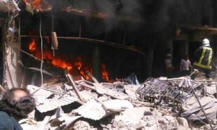 Syria Feature: Russia-Regime Bomb Near More Hospitals in Aleppo City