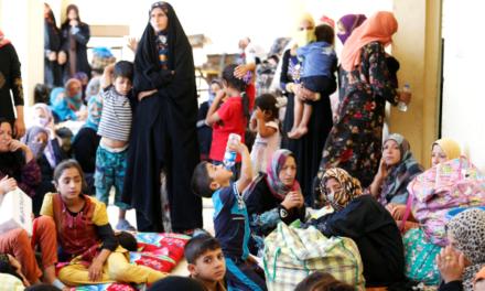Iraq Feature: Fleeing the Battle for Fallujah