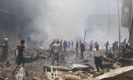 Syria Feature: 34+ Killed in Regime's Bombing of Idlib Market