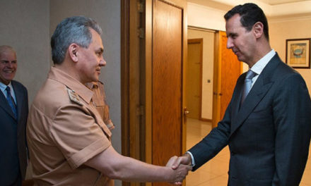 Syria Daily: Amid Aleppo Losses, Russia's Defense Minister Visits Assad