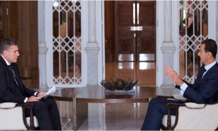 "Syria Video & Transcript: Assad's Interview with Australian TV — ""There is an End in Sight"""
